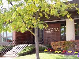 view of jewett park community center
