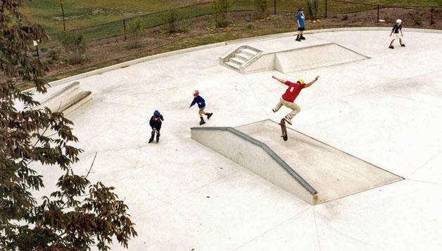 skate park at jewett park
