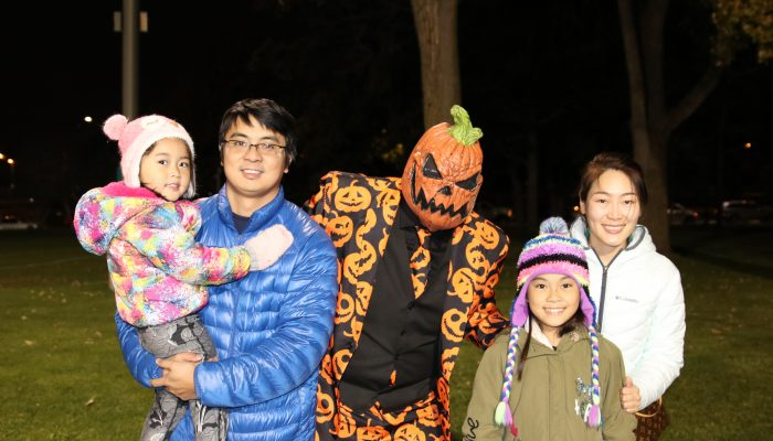 group at halloween hoopla