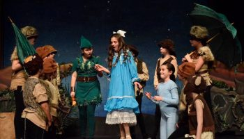 peter pan play with sarah hall theater company