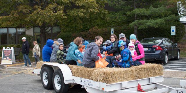 Halloween Hoopla hayride