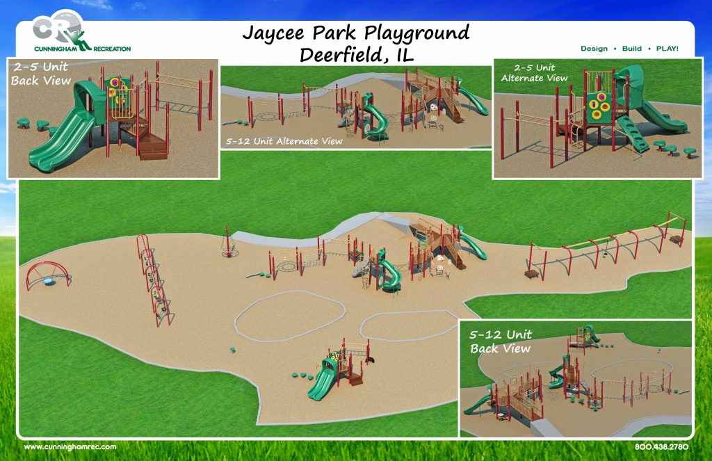 rendering of jaycee park